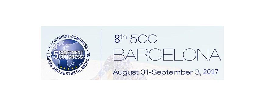 Sesderma participará por primera vez en 8th 5CC Congress