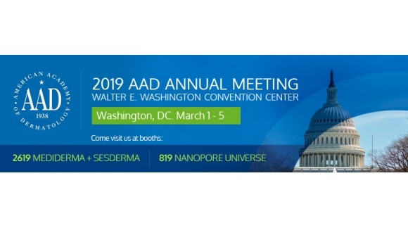 MEDIDERMA TO ATTEND AMERICAN ACADEMY OF DERMATOLOGY- 1 TO 5 MARCH