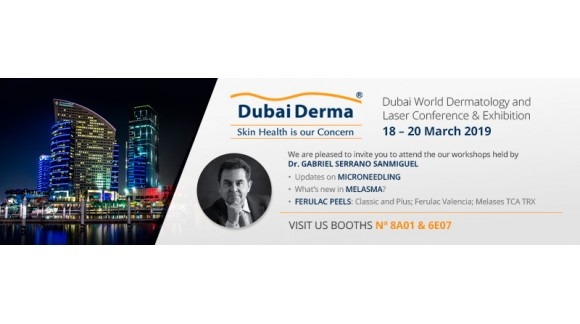 SESDERMA Y MEDIDERMA PARTICIPAN EN DUBAI DERMA