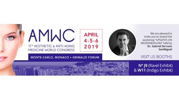 SESDERMA & MEDIDERMA AT THE 17th EDITION OF AMWC MONACO