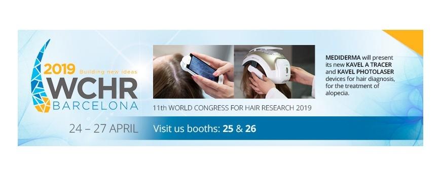 SESDERMA Y MEDIDERMA PARTICIPARÁN EN EL PRÓXIMO 11th WORLD CONGRESS FOR HAIR RESEARCH 2019