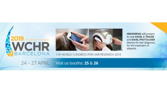 SESDERMA & MEDIDERMA TAKE PART IN THE 11th WORLD CONGRESS FOR HAIR RESEARCH 2019