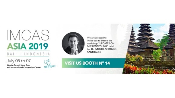 SESDERMA & MEDIDERMA TO PARTICIPATE IN THE 13TH EDITION OF IMCAS ASIA